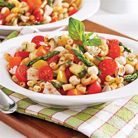 cuisine legume salade de pâtes sans gluten au thon et aux légumes