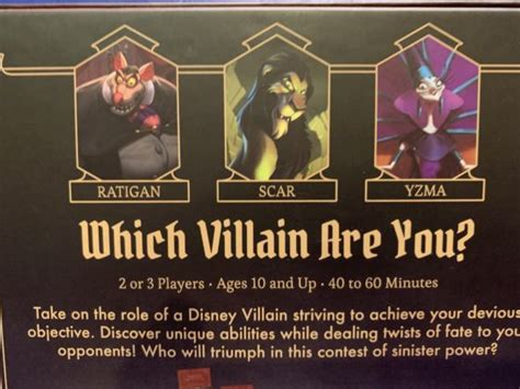 board game review disney villainous evil  prepared