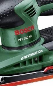 Bosch Schwingschleifer Pss 250 Ae : bosch pss 250 ae schwingschleifer test und vergleich ~ Orissabook.com Haus und Dekorationen
