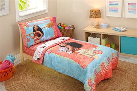 disney moana toddler  piece bedding set buy