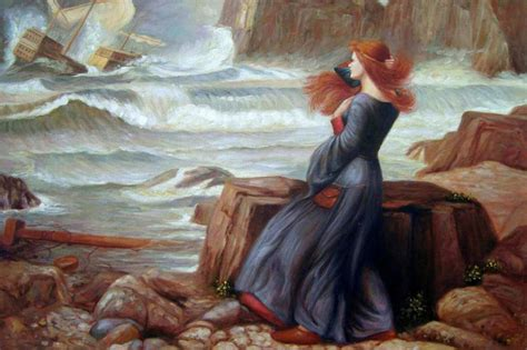 waterhouse miranda the tempest modern paintings by overstockart