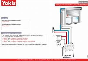 Branchement Volet Roulant électrique : mvr500e micromodule volets roulants encastrable 500w yokis ~ Melissatoandfro.com Idées de Décoration