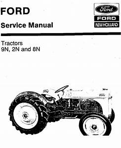 New Holland Ford 9n 2n 8n Service Manual Pdf