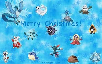 Pokemon Christmas Wallpapers Resolution Desktop Wallpapertag