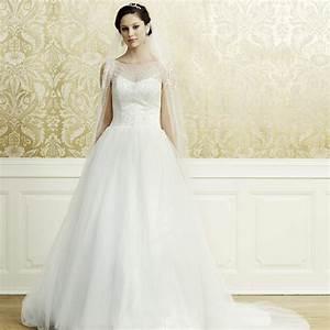 robe de mariage princesse ivoire a bretelles lea With site de robe de mariée avec bijoux alliance femme