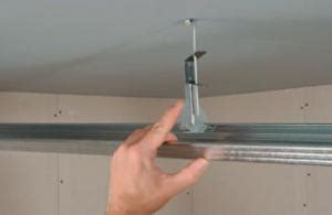 quelle fixation pour faire un faux plafond suspendu sur charpente existante