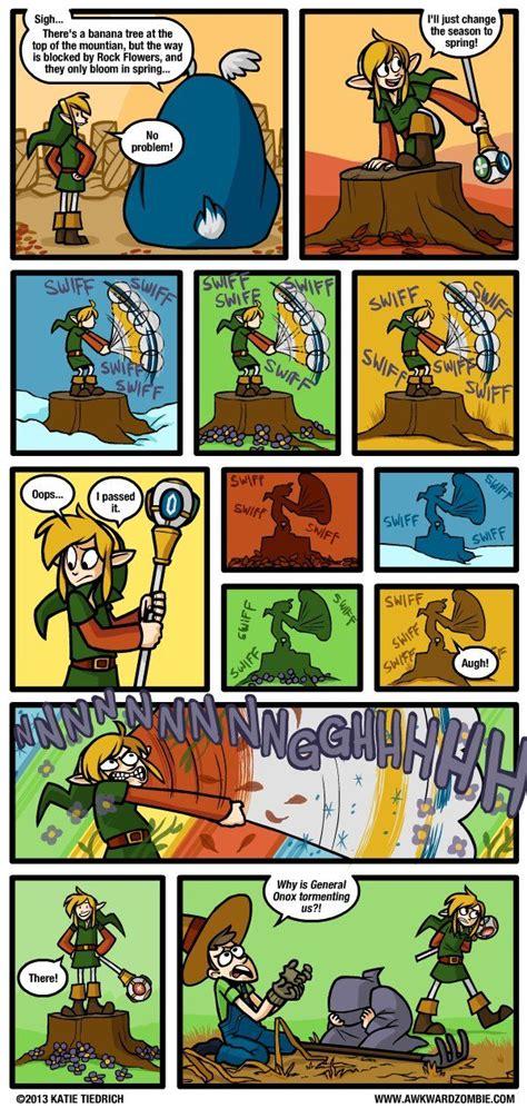 awkward zombie zelda funny memes legend dorkly link comic comics