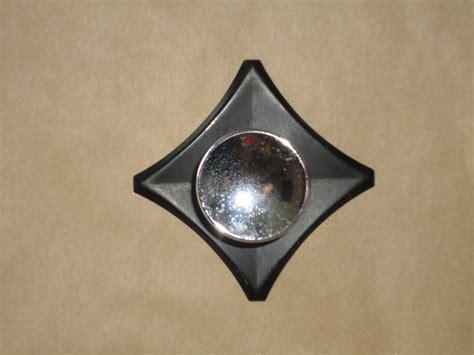 240z Floor Pan Plugs by 20 Cabinet Knob Backplate Black New Black Metal