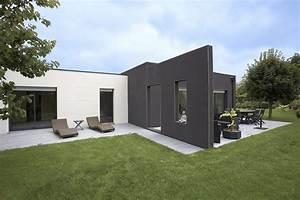Plan Maison Contemporaine Toit Plat : sotradi constructeur ~ Nature-et-papiers.com Idées de Décoration