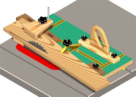 woodworking central table  jig plans  guide
