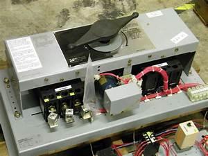 1284c15g02 Westinghouse Transfer Switch 225a 3p 480v 120v