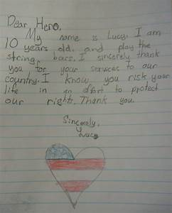 precious treasures letters from kids operation With sending letters to our troops
