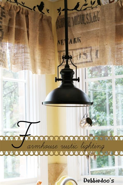 Farm Lighting by Showcase Of 24 Kitchen Home Tours Debbiedoos