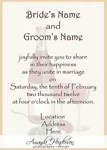 wedding invitation wording samples 21st bridal world With e wedding invitation text