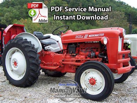 1954-1964 Ford 600 Thru 1801, 2000, 4000 Tractor Service