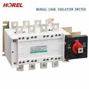 Gl Manual Transfer Switch Ac Isolator Switch 3 Phase 1600a