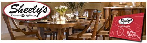 sheelys furniture store credit card review