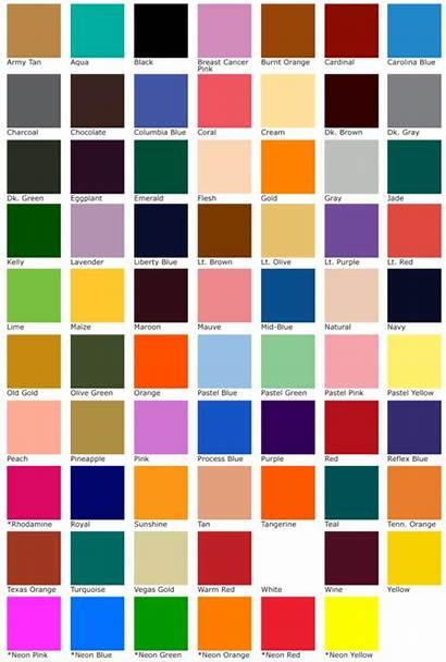Chart Colors Charts Ink Transfer Ltd Magic