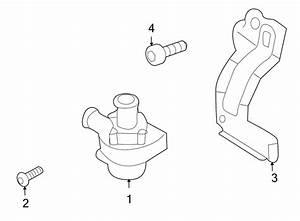 2010 Volkswagen Tiguan Engine Auxiliary Water Pump  Front