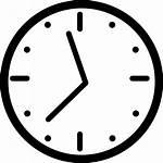 Clock Icon Wall Round Svg Onlinewebfonts