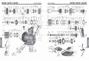 Transmission Repair Manuals A130  A131l   A132l