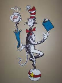 Cat in the Hat Dr. Seuss Wall Decals
