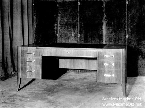 bureau travail ruhlmann by his fellow workers from maxime archives
