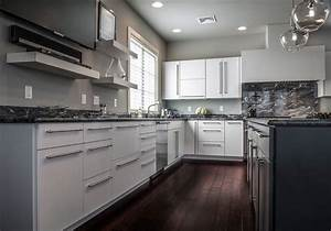 contemporary white kitchen in allentown pa morris black With kitchens by design allentown pa