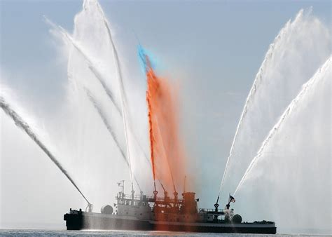 Fireboat White by Fighter Fireboat