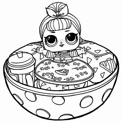 Lol Coloring Pages Dolls Doll Surprise