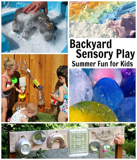 summer camp at home 25 backyard activities 876 | backyard fun summer kids activities preschool sensory