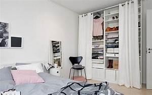 Petite Penderie Ikea : id e dressing petite chambre ~ Teatrodelosmanantiales.com Idées de Décoration