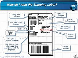 Simon schuster39s corporate customer service page simon for How to use a shipping label