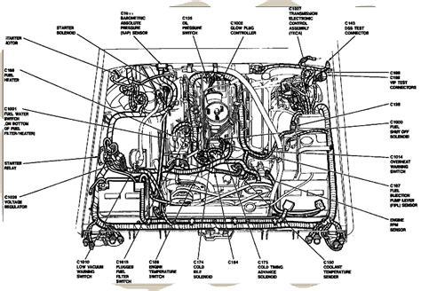 7 3 Powerstroke Diesel Engine Diagram by 6 9 7 3 Idi Diesel Tech Info Page 4 Ford Truck