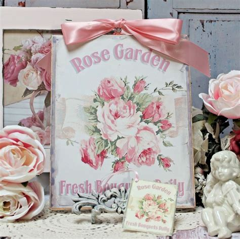 """French country master bedroom refresh. ~ """"Rose Garden..."""" ~ Shabby Chic French Country Cottage ..."""