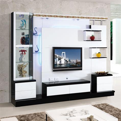 living room corner lcd tv stand wooden furniture 018