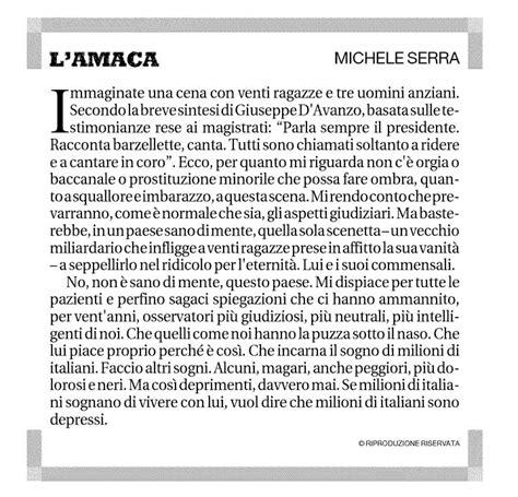 Amaca Michele Serra by Il Quinto Postulato L Amaca Di Serra