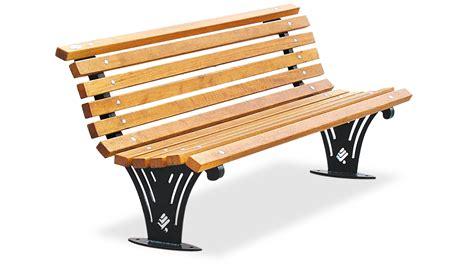 panchine in legno panchina con schienale per arredo urbano con listoni in
