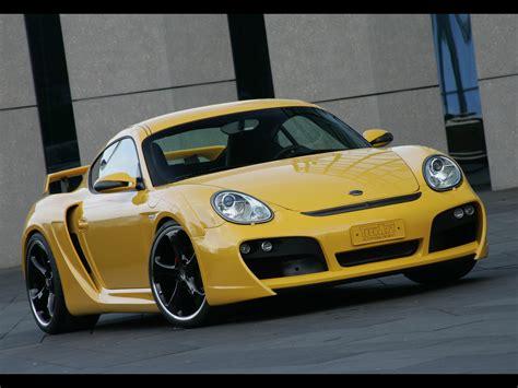 2007 Techart Widebody Based On Porsche Cayman S Front