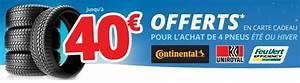 Avis Pneu Feu Vert : bon plan pneu de 25 40 euros offerts sur l achat de pneus continental uniroyal ou feu vert ~ Medecine-chirurgie-esthetiques.com Avis de Voitures