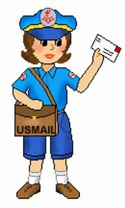Mail Carrier Clipart - Clipart Suggest