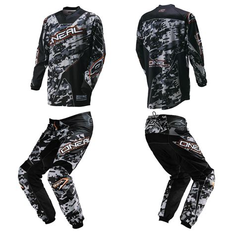 motocross gear for oneal element digi camo kids youth motocross mx dirtbike