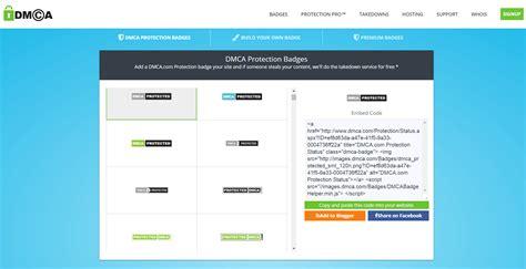 dmcacom website protection badges