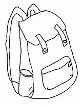 Backpack Coloring Printable Pages Backpacks Clipart Cliparts Library Clip Sheets Popular Printables Coloringhome sketch template