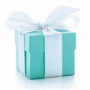 Tiffany Blue Square Box Favour Boxes