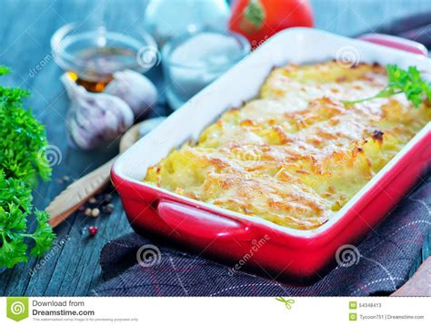gratin de pomme de terre photo stock image 54348413