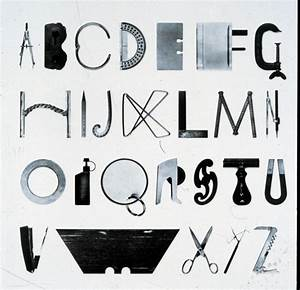 100 ideas that changed graphic design typography With alphabet letters with objects