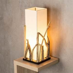 Lampe Aus Holz : lampe tischlampe aus holz holzlampe tischleuchte treibholz 50cm hoch kaufen bei living by design ~ Eleganceandgraceweddings.com Haus und Dekorationen