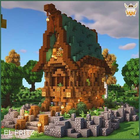 atelfritzbuilder  instagram fantasy prismarine house