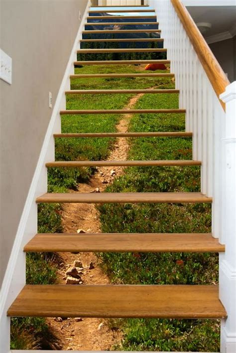 stairway art decorates  staircases  beautiful